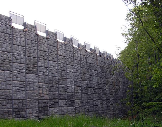 Ashlar Stone Wall