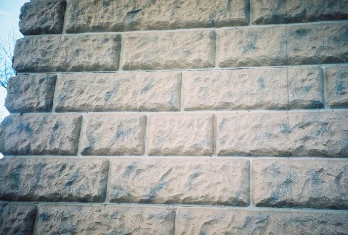 NJ DOT Rte 18 Sand Stone CIP Wall